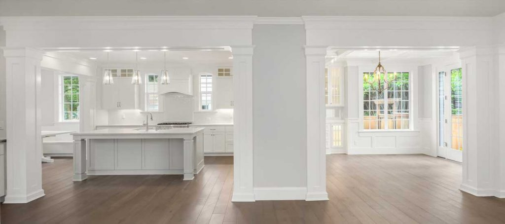Pro Property Painting offers elegant interior painting